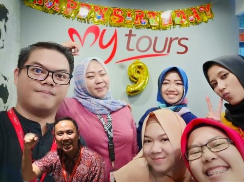 Ulang Tahun Mytour ke 9 Tahun Mytours Bandung