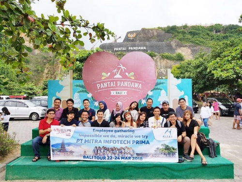 """PT Mitra Infotech Prima - Employee Gathering """"Impossible We Do, Miracle We Tr"""